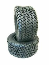 Two 18x6.50-8 Turf Lawn Tractor Mower Heavy Duty 4 Ply Two New Tires 18 650 8