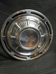 Vintage 1959-1966 Chevy Impala Corvette Double Flags Hubcap 14 - Only One