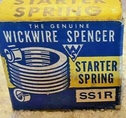 Starter Motor Drive Spring Wickwire Ss1rfits 1924-1934 American Antique Cars