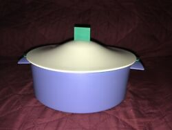 Vtg Tupperware Small Microsteamer Complete Set, Meals In Minutes
