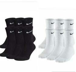 Men Nike Everyday Performance Crew Length Socks 1 3 or 6 Pairs $8.99