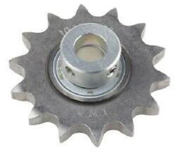 Ina Roller Chain Idler Sprocket 15mm Bore 13-teeth Parallel 3/4andprime Pitch Steel