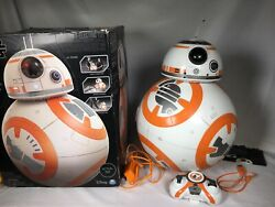 Spin Master Star Wars Bb-8 Fully Interactive Hero Droid W/ Remote + Charger
