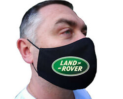 LAND ROVER  Face Mask- Fabric - Reusable - Washable - Cotton - Double Layer