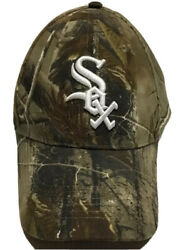 Chicago White Sox Hat Camo Hunting Baseball Cap Illinois Xfinity Outdoor Channel