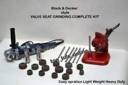 54x Black And Decker Style Valve Seat Grinding Complete Kit High Speed Grinder