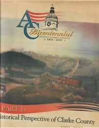 Athens, Ga- Historical Perspective Of Clarke County 2001 Athens Banner- Herald S