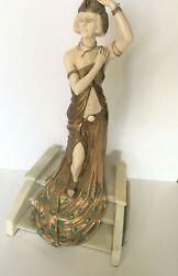 Art Deco Sculpture The Grand Entrance Bronze And Marble