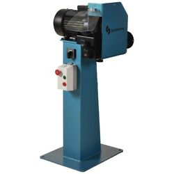 New - Scantool Industrial Wire Wheel Deburring Machine With Pedestal - 480v 3ph
