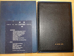 1945 - The Scofield Reference Holy Bible, Oxford, Kjv, With Concordance 183x