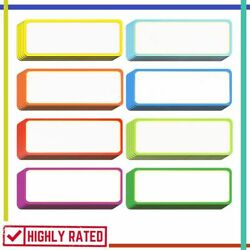 Name Plates Magnetic Labels Tag Names Plate Label Tags School Supplies Leinuosen