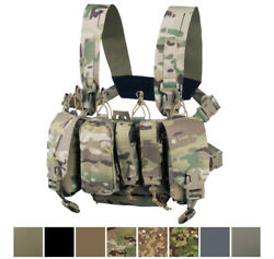 Direct Action Tactical Helikon Chest Rig Vest Molle Operator Loaded Thunderbolt