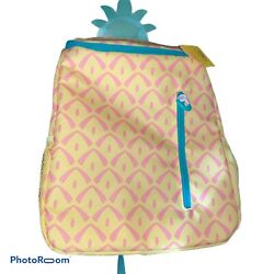Sun Squad Pineapple Backpack Cooler Insulated Liner 20 can Target RARE NEW $49.99