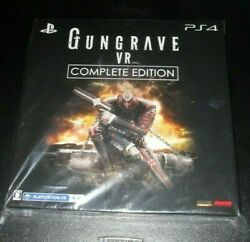Gungrave Vr Limited Complete Edition Sony Playstation 4 Japan Import Unopened