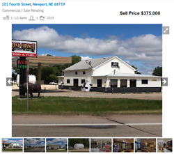 Turnkey Truck Stop Gas Station Full Kitchen Restaurant & 5.5 Acres Real Estate