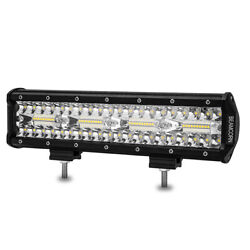 12 Inch 240w Led Light Bar Beamcorn Combo Off Road Driving Lights For Suv Pickup