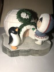 Hallmark Frosty Friends Christmas Ornaments 20th Year Anniversary Preowned