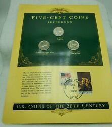 Jefferson 5-cent Coins - Us Coins Of The 20th Century