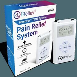 Tens Unit - Dual Channel Electro Therapy Pain Relief System From Ireliev