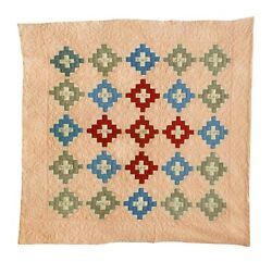 Antique Friendship Quilt Grama And 24 Sets Initials1930and039s 78 X 80