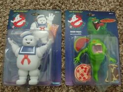 2020 The Real Ghostbusters Green Ghost Slimer And Stay Puft Marshmallow Man