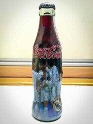 Coca Cola Real Madrid Year 2006/07 Extremely Rare Bottle Impossible To Find