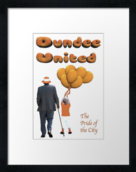 Dundee United Pride Prints And Canvas Example Shown 40cm X 30cm Framed Print