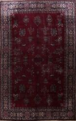 11x16 Antique Pre-1900 Ghazan Khan Area Rug Pictorial Palace Size Hand-knotted