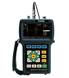 Ultrasonic Flaw Detector Tfd900 Dgs And Dac Functional Curve Echo Crest Tracking