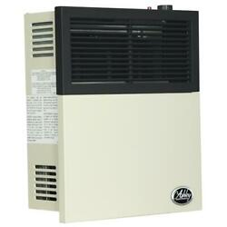 Gas Wall Heater 11000-heat Vented Surface Mounted Indoor Automatic Shutoff Beige