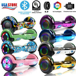 6.5 Bluetooth Hoverboard Self Balance Electric Scooter Ul Nobag Led Best Gift