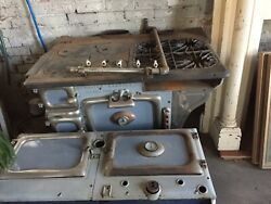 Antique United Banquet Gas Coal Wood Stove Great Western Stove Company