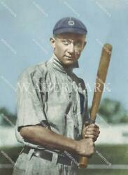 Ef747 Ty Cobb Detroit Tigers Youthful Pose 8x10 11x14 16x20 Colorized Photo