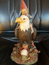 Par-r 1985 Tom Clark, Coa Signed, Gnomes, 24, Hand Signed, Cairn Collection