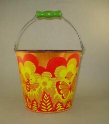 1980's Rare Vintage Norma Russian Ussr Sand Pail Tin Toy Never Used