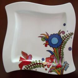 Villeroy And Boch New Wave Acapulco Dinner Plate - Rare Discontinued Item