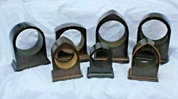 Gibson Vintage Wooden Clock Bases Assorted Sizes