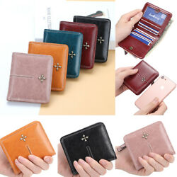 Women Wallet Leather Small Mini Purse ID Credit Card Holder Pocket Mini Wallet $9.99