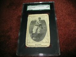 1922 Neilson's Chocolate 30 Ty Cobb Sgc Auth. Type 1 Detroit Tigers Great