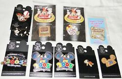 Lot Of 10 Assorted Disney Trading Pins Limited Edition Brand New