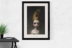 Mark Ryden Andldquoqueen Beeandrdquo 2016 W/ Coa Signed And Numbered Edition Original Lithograph