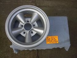 Single 14x6 Et Torque Thrust Style With Round Wheel Steel Back Ford Chev Unalug