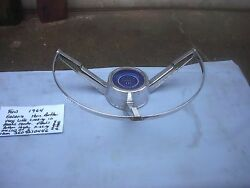 Ford Factory 1963-64 Steering Wheel Horn Center Galaxie