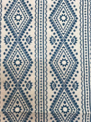 Lee Jofa Lucknow Fabric Remnants In Blue