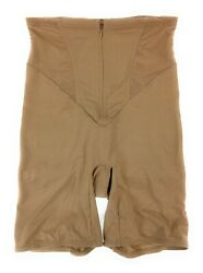 CLEARANCE!! Spanx Tummy & Rear Control Shape Shorts Beige Large