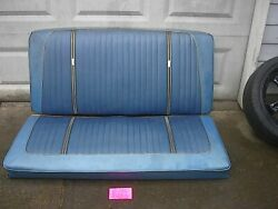 Ford Factory 1964 Galaxie Contvertible Rear Seat Only Might Fit 1963 63 1/2