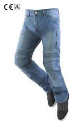 Jeans Technicians Motorcycle Oj Upgrade Man Blue Approved Chunky Air Vents Guard