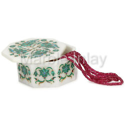 Marble Inlay Jewellery Boxes Decorative Collectibles Gifts