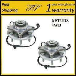 Front Wheel Hub Bearing Assembly For Ford F-150 2010 Svt Raptor 4wd Pair