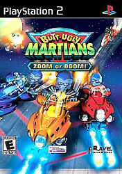 Butt-ugly Martians Zoom Or Doom Sony Playstation 2 Complete Nice